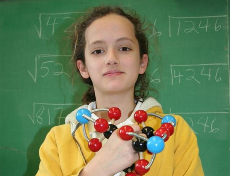Clara L. Lazen put together a model of a molecule called tetranitratoxycarbon