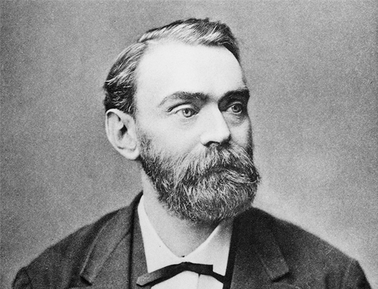 Alfred Nobel, the inventor of dynamite