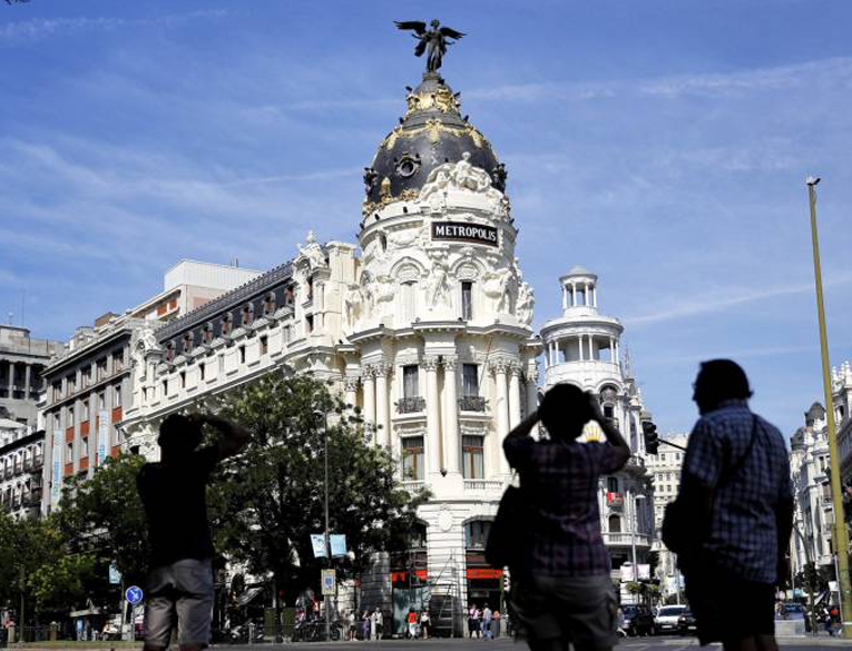 Calle de Alcalá in Madrid (Alcalá Street)