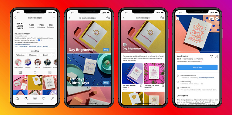 Soon Instagram Shops shopping tag will be available to promote Facebook Shops