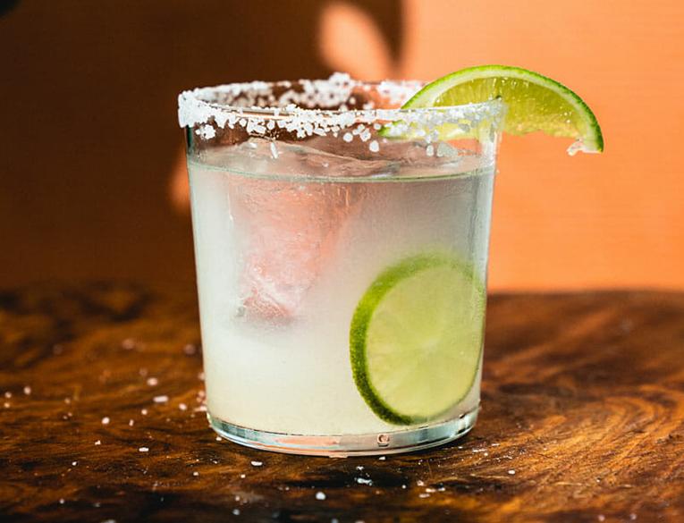 margarita in sel-isolation cocktail
