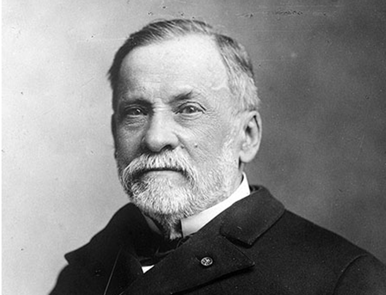 Louis Pasteur, a scientist who came up with pasteurization