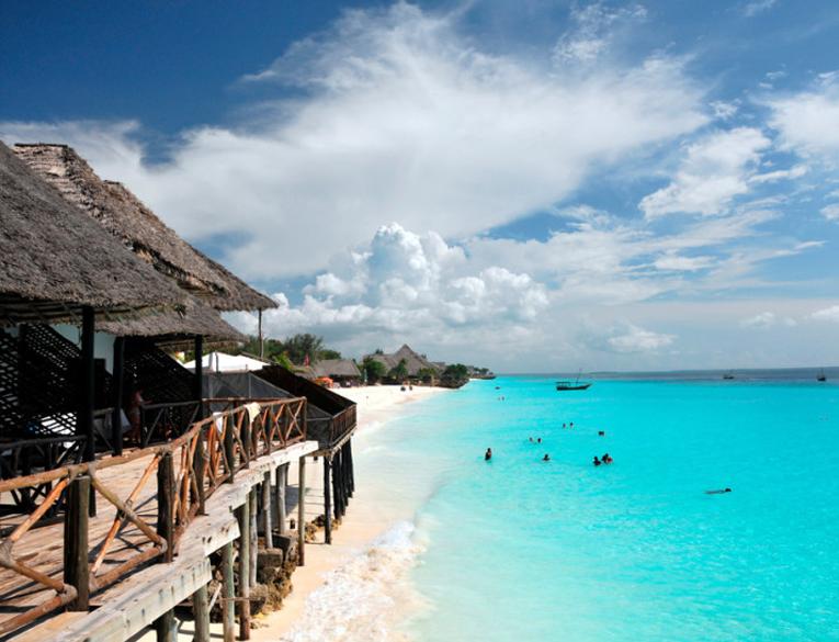 Pwani Mchangani Beach in Zanzibar