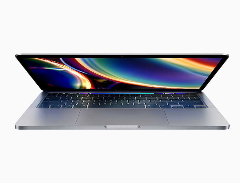 The 13-inch MacBook Pro has Magic Keyboard, double the storage, and faster graphics performance.