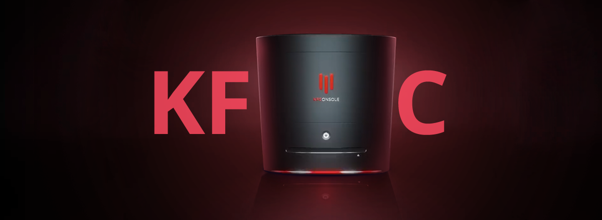 Kfc Introduced Its Own Kfconsole For Gamers