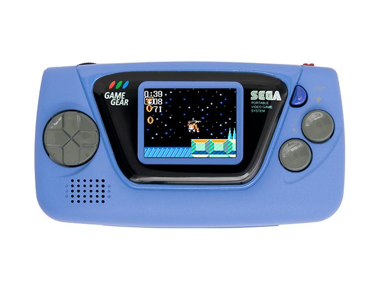 The Blue Sega Game Gear Micro