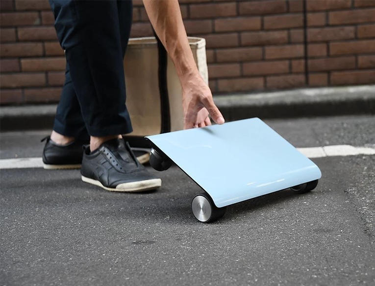 Cocoa Motors has launched the Walkcar compact electric scooter