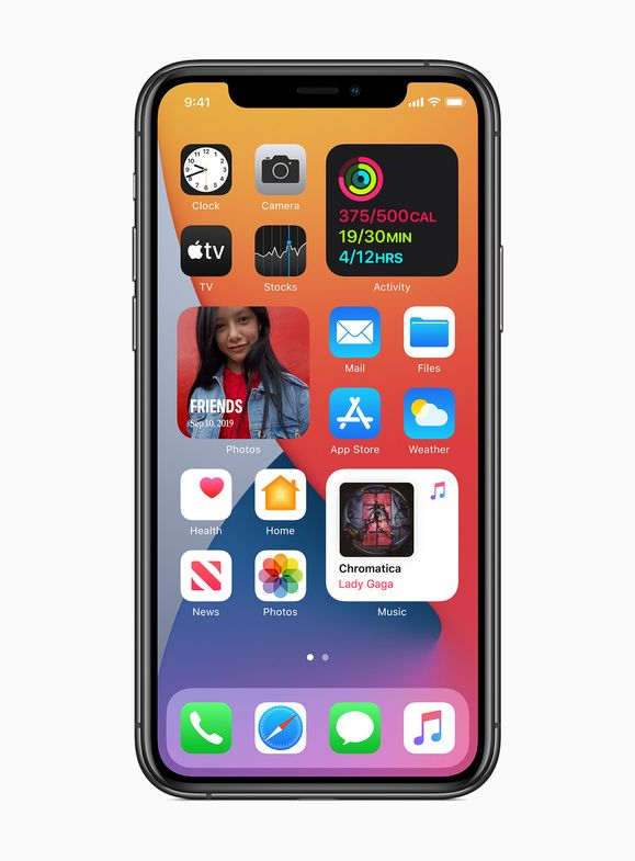 Widgets are beautifully redesigned in iOS 14
