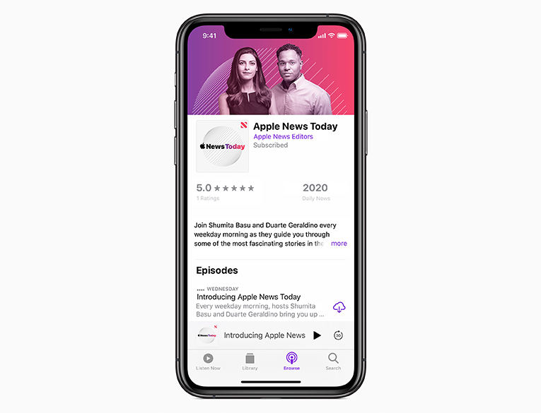 Apple News Today is hosted by Apple News editors Shumita Basu and Duarte Geraldino