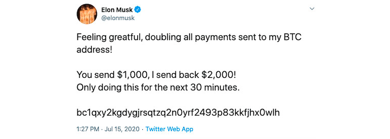 A Massive Crypto Scam on Twitter: Elon Musk