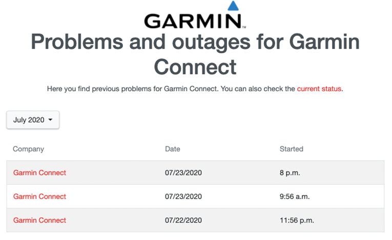 Garmin outage after ransomware attack