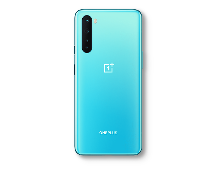 OnePlus Nord in Blue Marble