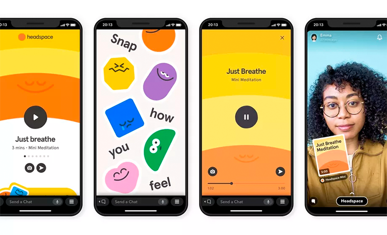 Snapchat Minis Headspace