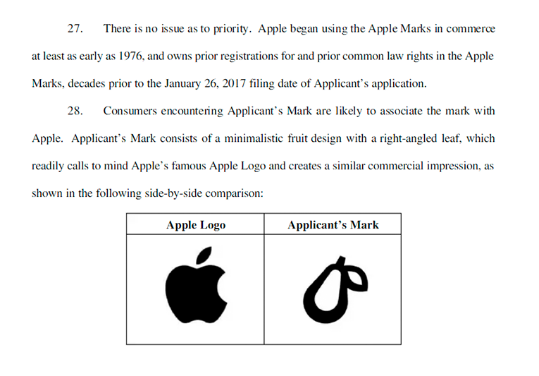 Apple's lawsuit against Prepear