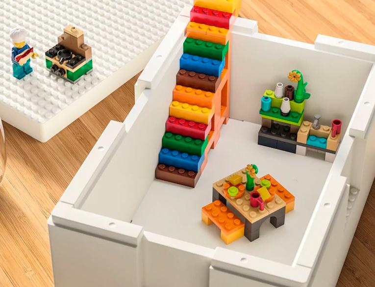 IKEA and Lego BYGGLEK Storage Boxes