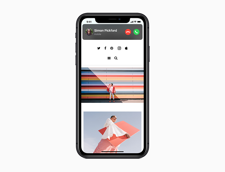 Apple iOS 14 compact design