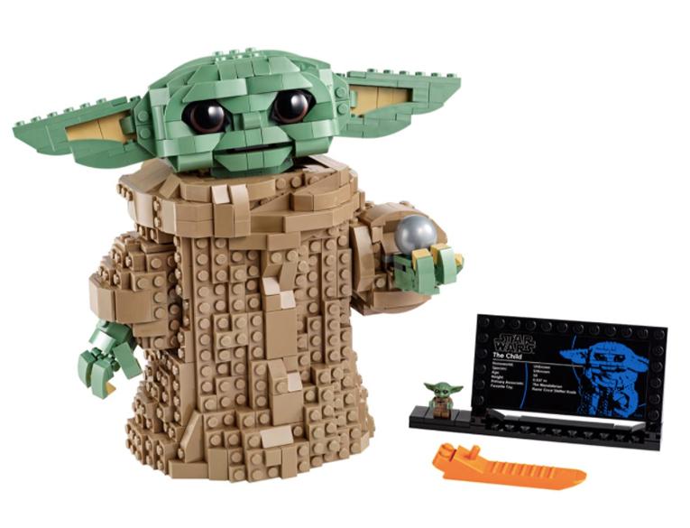 Lego Baby Yoda Set