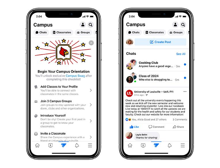 Facebook Introduced Campus