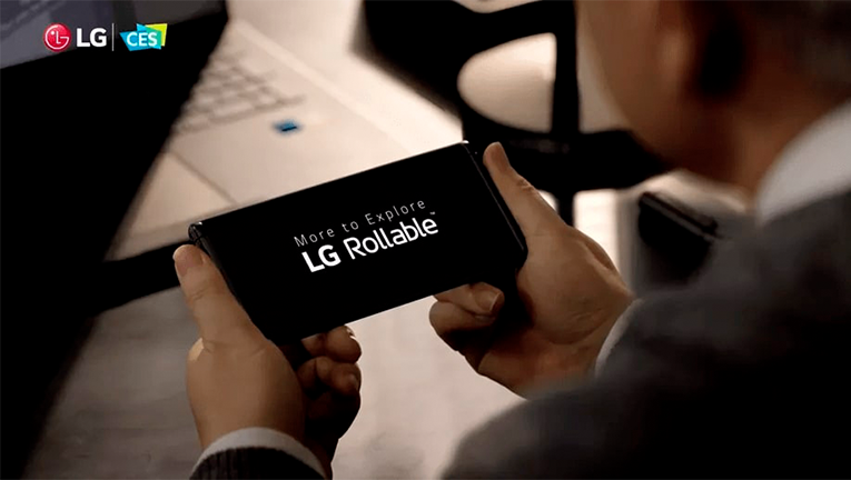 LG Rollable Smartphone Concept