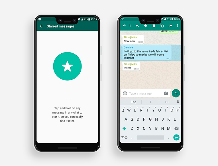 How to Save WhatsApp Messages as Favorites