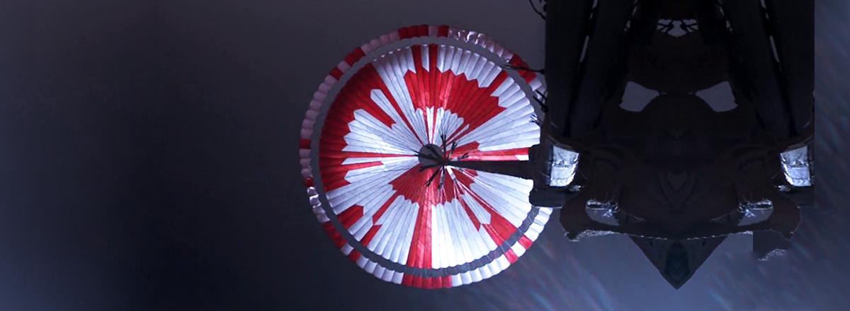 The Parachute of NASA's Perseverance Rover Had a Hidden Message
