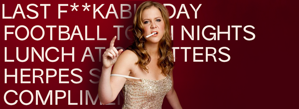 Amy Schumer's 11 Best Bold Jokes
