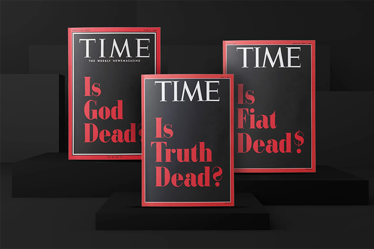 Time Covers that are sold as NFTs