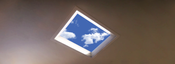 Mitsubishi Created Fake Skylight Video Displays for Stressed Office Workers in Japan