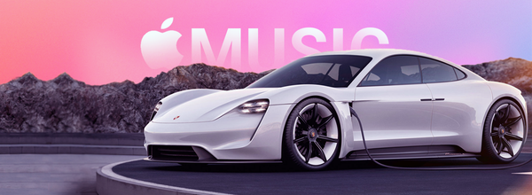 Porsche Taycan Is Teaming up with Apple Music