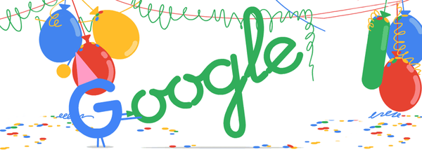 Google's Sweet 21st Birthday