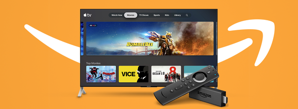 Apple TV App Becomes Available on Amazon Fire TV