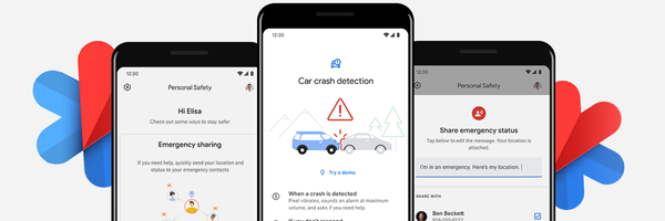 Personal Safety App Can Detect Car Crash Accidents. Google's Life Guarding Project