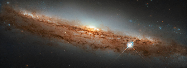 Hubble Space Telescope Captured an Image of a New Galaxy