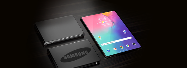 A New Patent from Samsung: Foldable Tablet