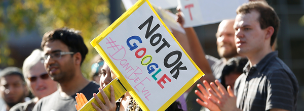"Google Is Under Federal Investigation After Firing the ""Thanksgiving Four"""