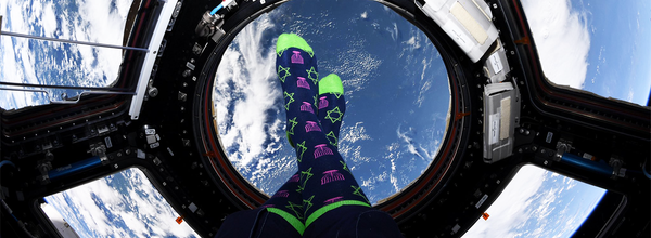 Happy Holidays From Space! NASA Astronaut Celebrates Hanukkah in Festive Socks