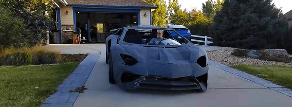 What Is the Price of a 3D Lamborghini Aventador, and How to Make One at Home?