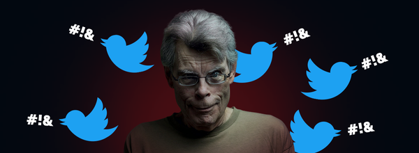 Two Tweets Made Stephen King a Villain Who Can Even Kick Pennywise's Ass