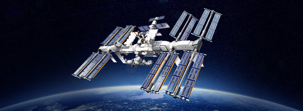 Lego Released an International Space Station Set and Sent It into the Stratosphere