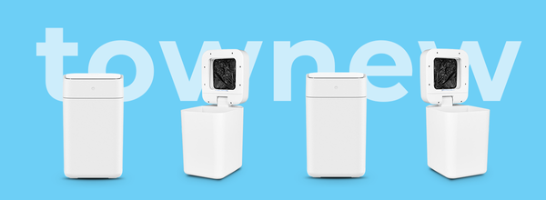 The Future Is Here: A Smart Trash Can Seals and Changes the Trash Bag for You