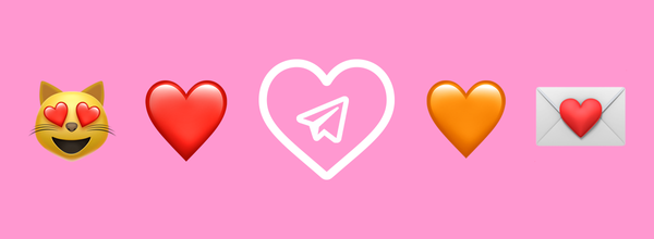 A Little Surprise for Valentine's Day From Telegram