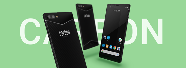 Carbon Mobile Introduced the World's First Smartphone Made of Carbon Fiber