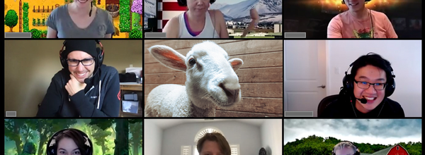 Goat 2 Meeting Will Bring Farm Animals to Your Video Meetings
