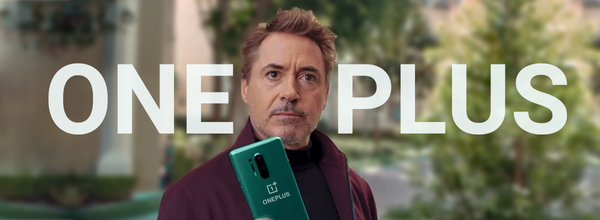 Robert Downey Jr. Appeared in the New OnePlus 8 Pro Promo Video