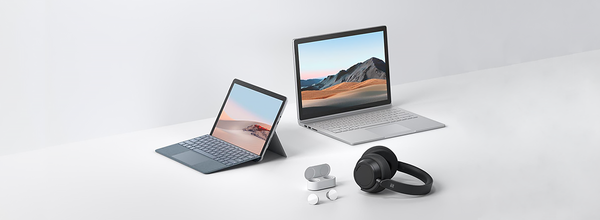 Microsoft Introduced the Surface Book 3 Laptop, Surface Go 2 Tablet, and Own Wireless Headphones