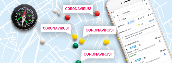 Google Maps Updates Will Help You Travel Safely During the COVID-19 Pandemic
