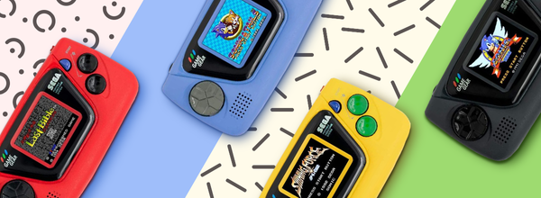 Sega Introduced the Game Gear Micro to Celebrate Its 60th Anniversary