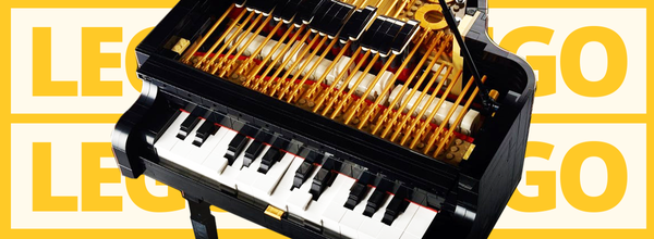 Lego Will Release a 3,600-Piece Playable Grand Piano