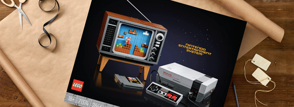 Lego Will Release a $250 Full-Size Replica Set of the Original Nintendo NES