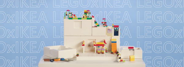 IKEA and Lego Teamed up to Create Playful BYGGLEK Storage Boxes